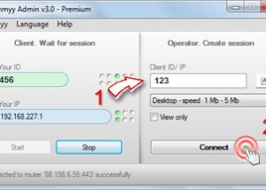 Freeware - Ammyy Admin 3.0 screenshot