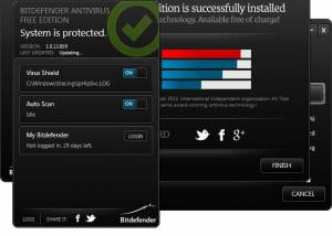 Full BitDefender Free Edition screenshot