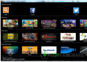 Full BlueStacks App Player screenshot