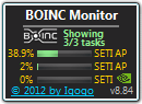 Full BOINC Monitor screenshot