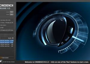 Freeware - CINEBENCH 15.038 screenshot
