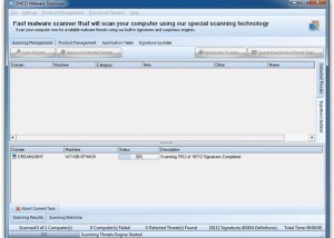 EMCO Malware Destroyer screenshot