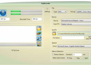 Freeware - FeyRecorder 3.9.0 screenshot