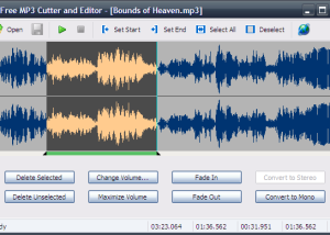 Free MP3 Cutter and Editor screenshot