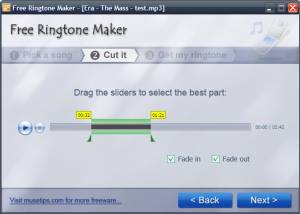 Free Ringtone Maker screenshot