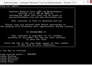 Full Junkware Removal Tool screenshot