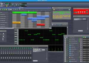 Full LMMS (Linux MultiMedia Studio) x64 screenshot