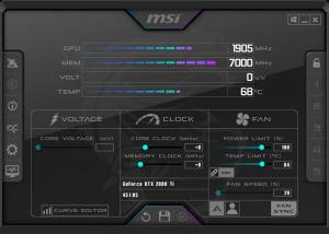 Full MSI Afterburner screenshot