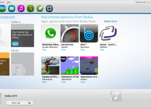 Full Nokia Suite screenshot
