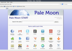Freeware - Pale Moon 27.9.1 screenshot