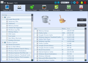 PC Manager screenshot