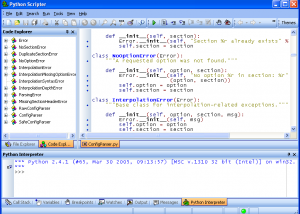 Full PyScripter x64 screenshot