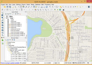 Full QGIS screenshot