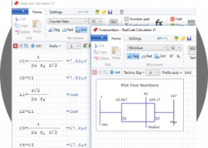 Freeware - RedCrab - The Calculator 6.33.00 screenshot