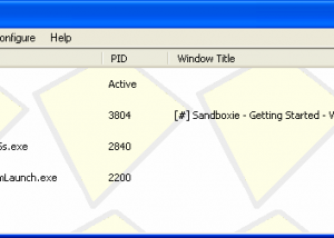 Freeware - Sandboxie 5.22 screenshot