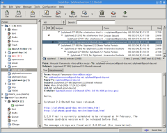 Freeware - Sylpheed 3.6.0 B1178 screenshot