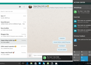Full WhatsApp for PC screenshot