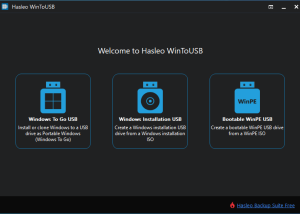 Freeware - WinToUSB 3.9 screenshot